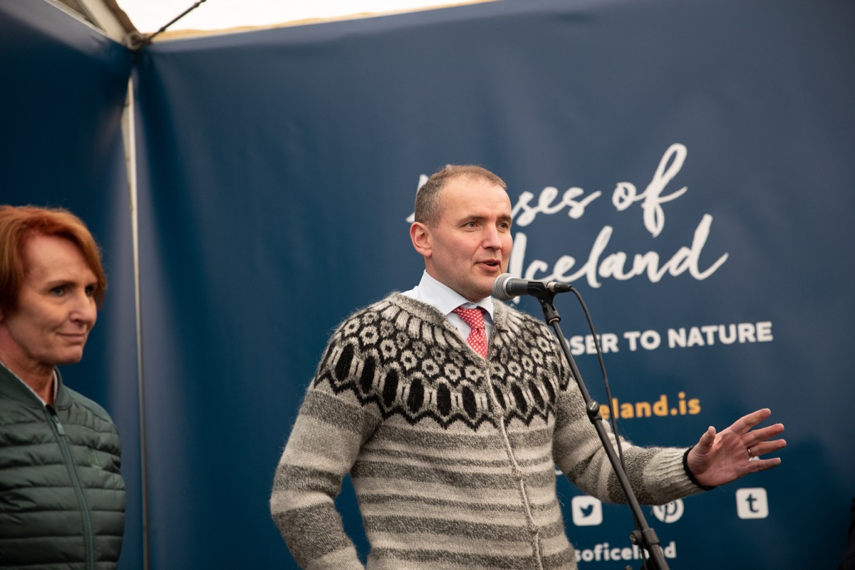 Guðni Th., the President of Iceland
